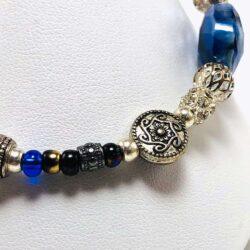 Blue Dream Bead Bracelet