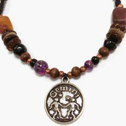 Natural Stone Gemini Bracelet