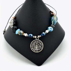 Teardrop Sagittarius Beaded Bracelet