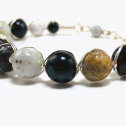 Retro Wrapped Stone Bracelet - Art Filled Soul