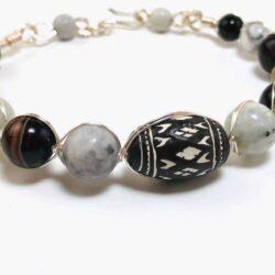 Retro Wrapped Stone Bracelet - Art Filled Soul