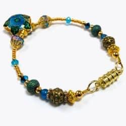 Golden Blue Mosaic