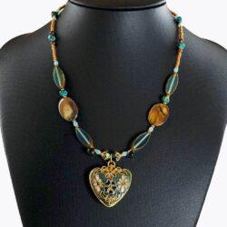 Victorian Heart Choker