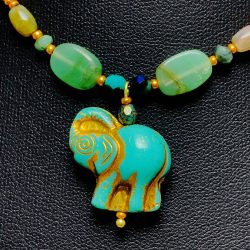 African Elephant Choker