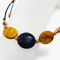 Egyptian Scarab Bracelet