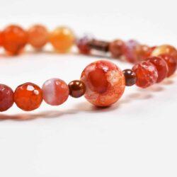 Orange Frost Bracelet