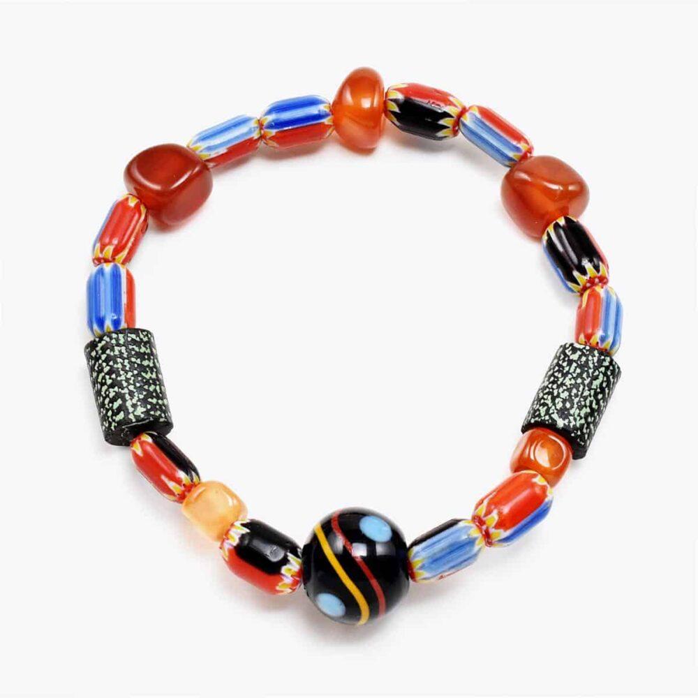 Chevron Bead Bracelet
