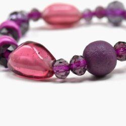 Purple Fusion Bracelet