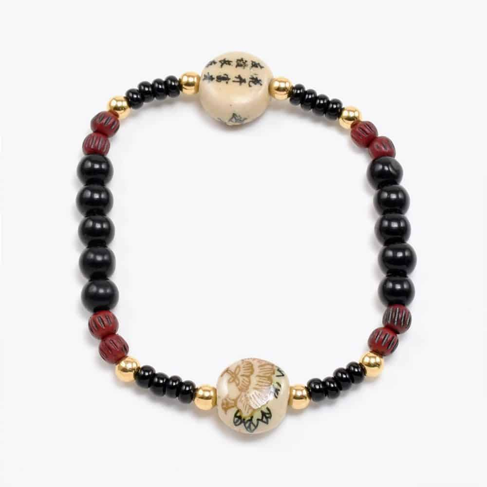Lotus Beaded Bracelet
