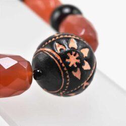 Orange Tribal Fuse Bracelet
