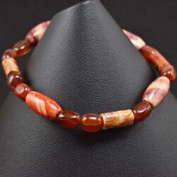 Tribal Orange Bracelet