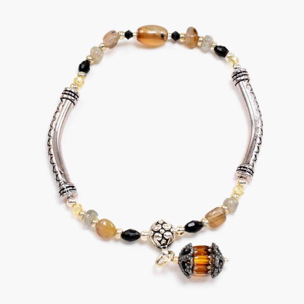 Orange Lantern Bracelet